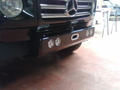 Shortie front bumper......a bit more progress