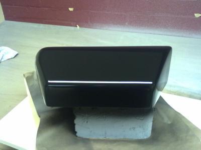 few layers of satin FG matting and a bit of filler....3 coats of hi build primer ...satin black to finish