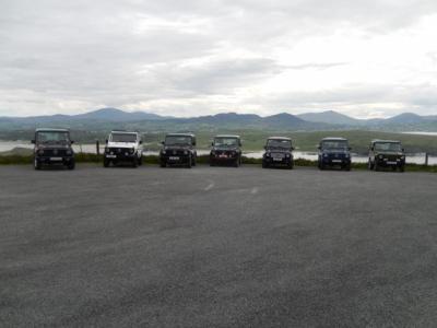 Carpark near Malin Head