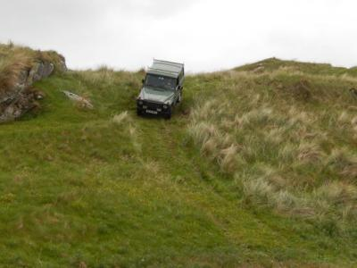 Some light off Road driving