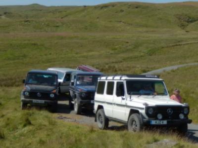 Additional route past Claerwen Reservoir